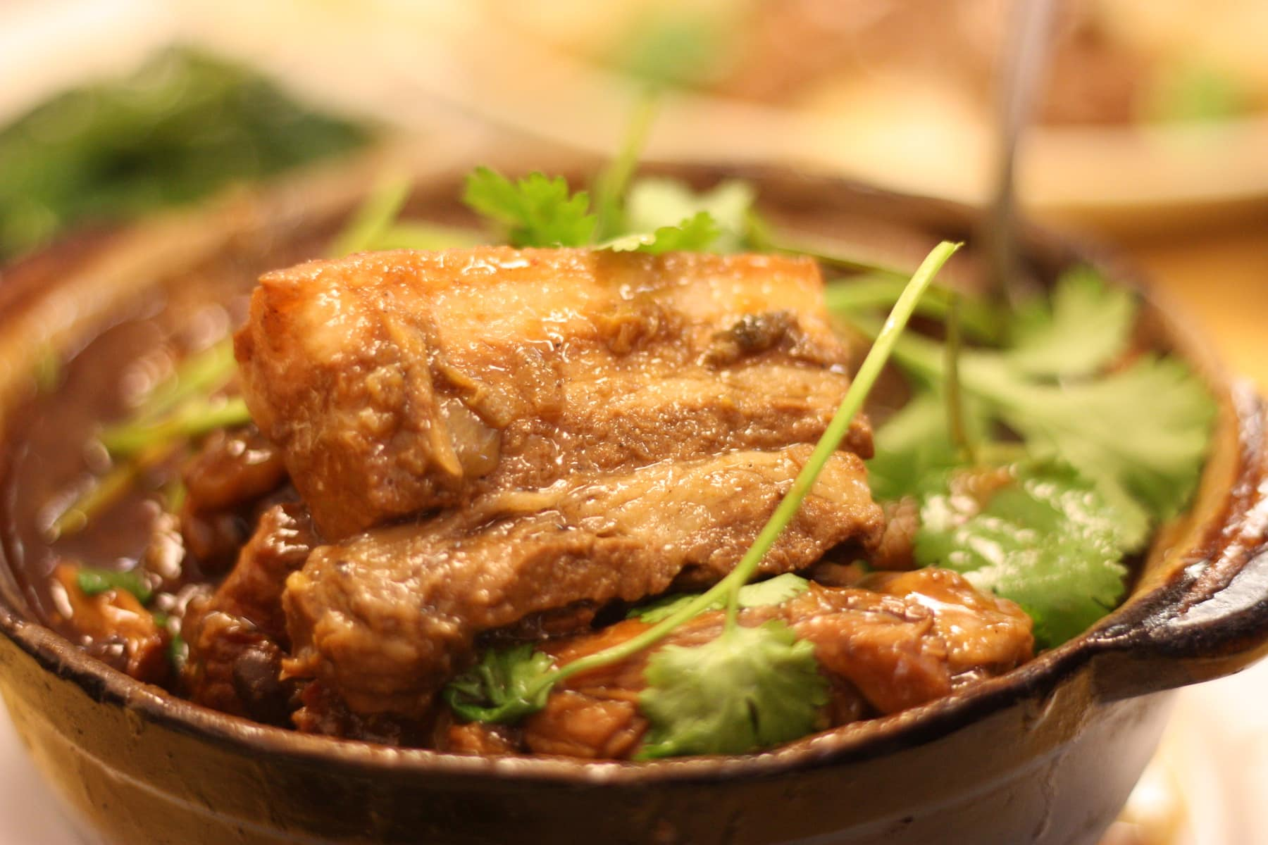 Pork Belly Clay Pot