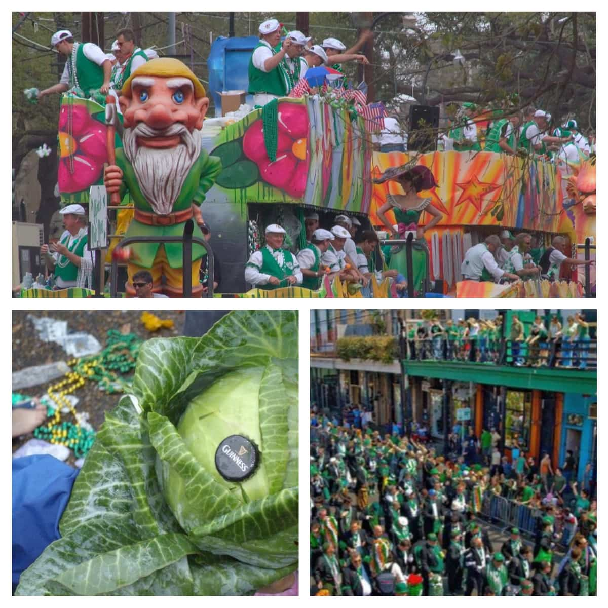 Saint Patrick's Day New Orleans Syle