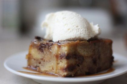 The History Of Brenda S A Sweet Ending With A Recipe For Banana Chocolate Chip Bread Pudding