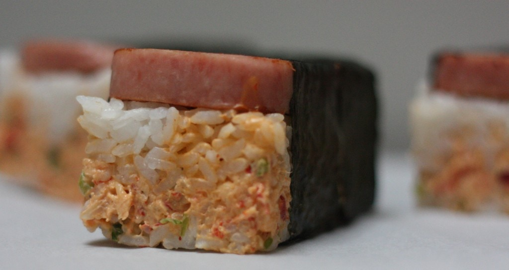 Crawfish Musubi